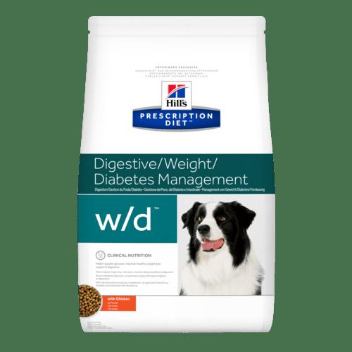 Сухой корм Ветеринарный корм для собак Hill`s Prescription Diet w/d, при диабете/контроль веса, с курицей pd-canine-prescription-diet-wd-chicken-dry-productShot_500.png