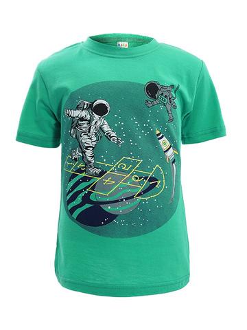 D002-42 футболка для мальчиков, зеленая