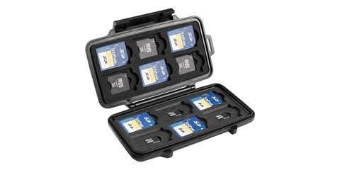 Кейс PELI для карт памяти с картами