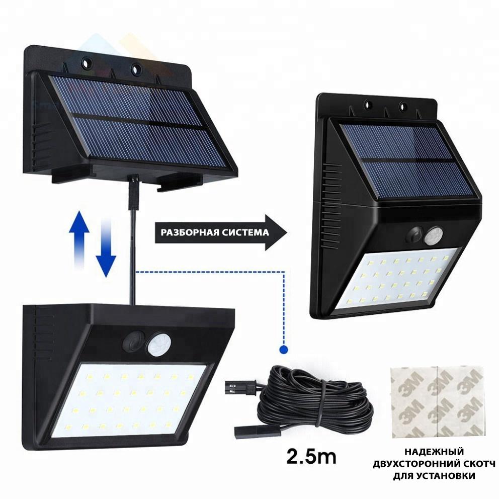 Модульный светильник ECOSOLAR+