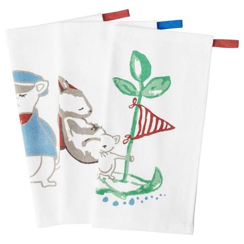 РЁДХАКЕ Полотенце, плывущий мышонок, 30x30 см