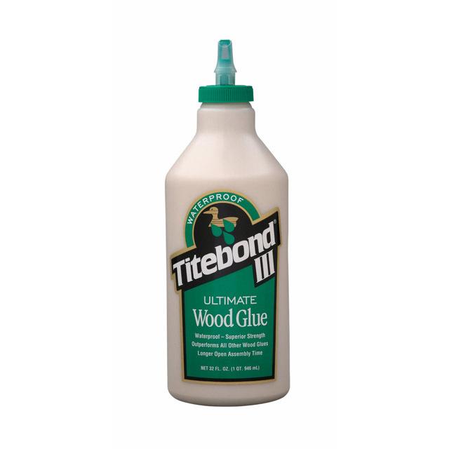 Клей для дерева влагостойкий Titebond III Ultimate Wood Glue 946мл (1415)