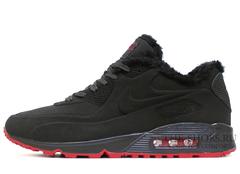 Кроссовки Мужские Nike Air Max 90 VT Dark Grey С Мехом