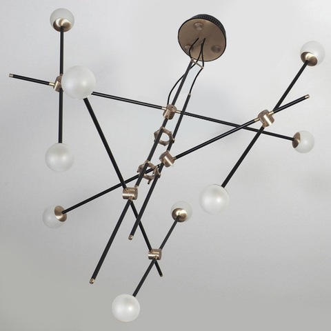 chandelier  BULLARUM ST-9 CHANDELIER by Intueri Light