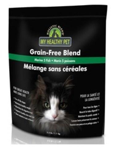 Holistic Blend Индейка и Цыпленок беззерновой, сухой корм для кошек 1.1 кг