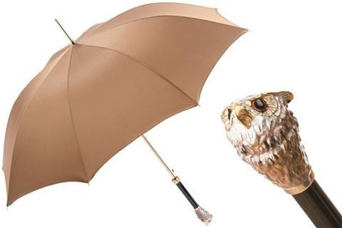 Зонт-трость Pasotti Owl Umbrella, Италия (арт.479 Oxf-2 K51).