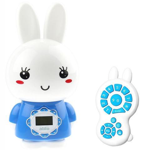 Alilo игрушка музыкальная Большой зайка G7 синий
