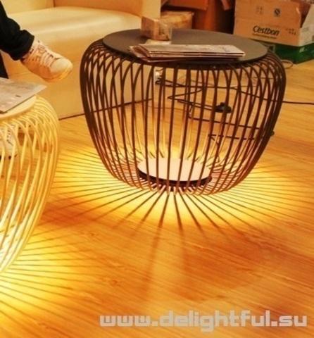столик Meridiano Outdoor Lamp ( черный )