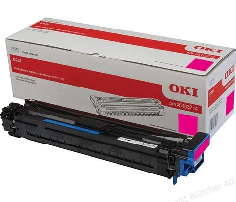 Фотобарабан для OKI C911, C931 пурпурный, ресурс 40000 стр., (45103714)