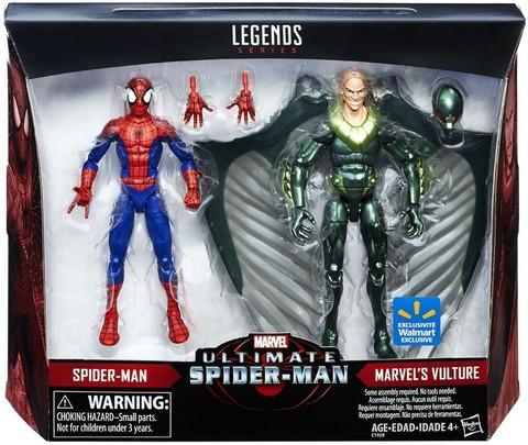 Набор фигурок Человек паук и Стервятник Эксклюзив - Marvel Legends Ultimate, Hasbro