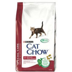 Cat Chow Urinary Tract Health для взрослых кошек для поддержания здоровья мочевыводящих путей, птица