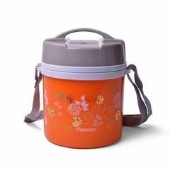 Для пищи термос 1400мл Оранжевый (нерж.сталь)