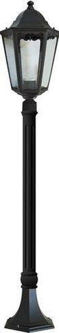 Светильник садово-парковый, 100W 230V E27 черный, 6210 (Feron)