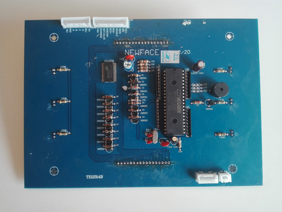 Управляющая плата-дисплей от аппарата NV-E6