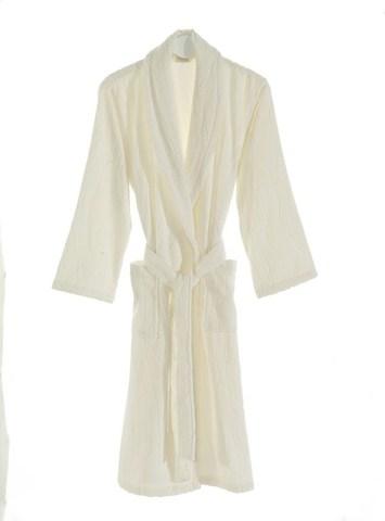 Белый банный халат СОРТИ SOFT COTTON (Турция)