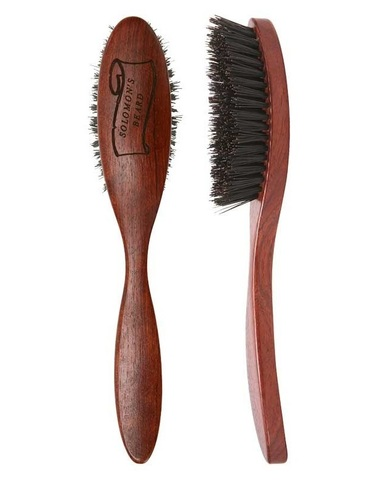 Щетка для бороды с ручкой Solomon's Beard Brush