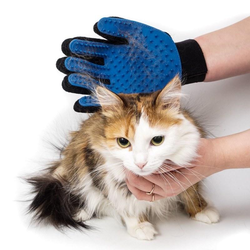 варежка для вычесывания кошек купить
