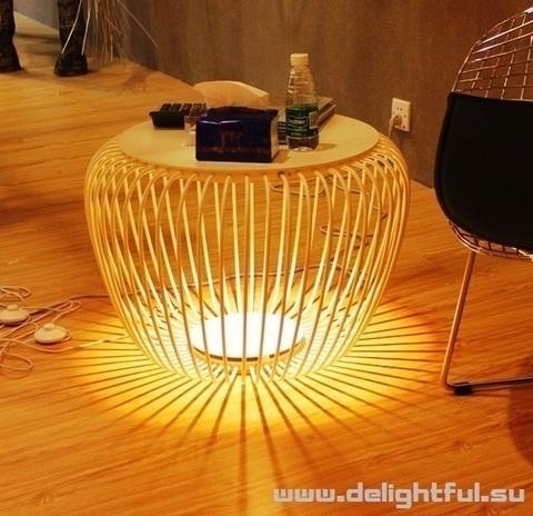 столик Meridiano Outdoor Lamp ( белый )