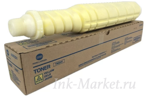 Тонер желтый Konica Minolta TN-620Y для bizhub PRO C2060L A3VX254