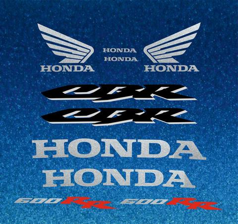 Набор виниловых наклеек на мотоцикл HONDA CBR 600RR 2005