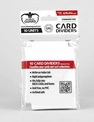 Ultimate Guard - Разделители белые 10 штук