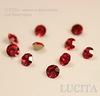 Стразы ювелирные (цвет - красный) 3 мм, 10 шт