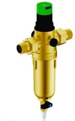 Фильтр Гейзер Бастион 7508155201 с регулятором давления для холодной и горячей воды 1/2