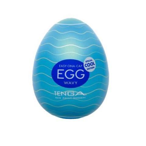 Яйцо мастурбатор - TENGA Egg Cool с охлаждающим эффектом