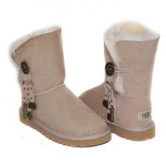 UGG Bailey Button Azalea Sand