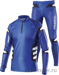 Элитный Лыжный гоночный комбинезон Craft Shark Dark Blue