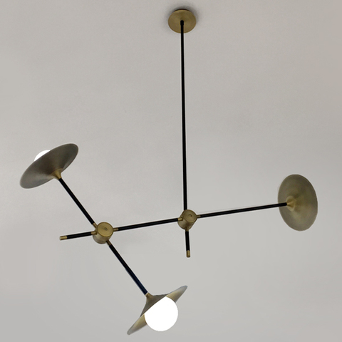 chandelier  DISC TURBAYA SS-3 CHANDELIER by Intueri Light