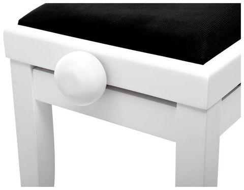 Стул для цифрового пианино Th KB-15 (белый)