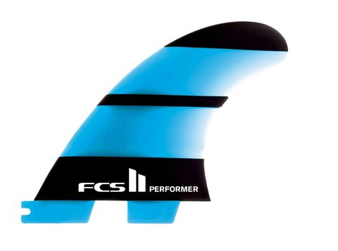 Плавники FCS II Performer Neo Glass  Medium Tri-Quad Retail Fins компл. из пяти М