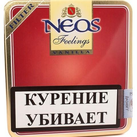 Сигариллы MINI NEOS VANILLA (FEELINGS) (10 шт)
