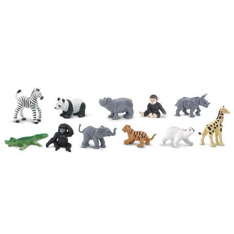 Набор фигурок Детеныши диких животных, Safari Ltd.