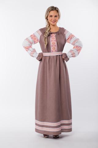 Платье льняное Родные берега