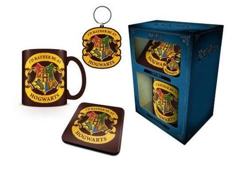 Набор Pyramid: Harry Potter: (Rather be at Hogwarts) Кружка+Подставка+Брелок GP85211м