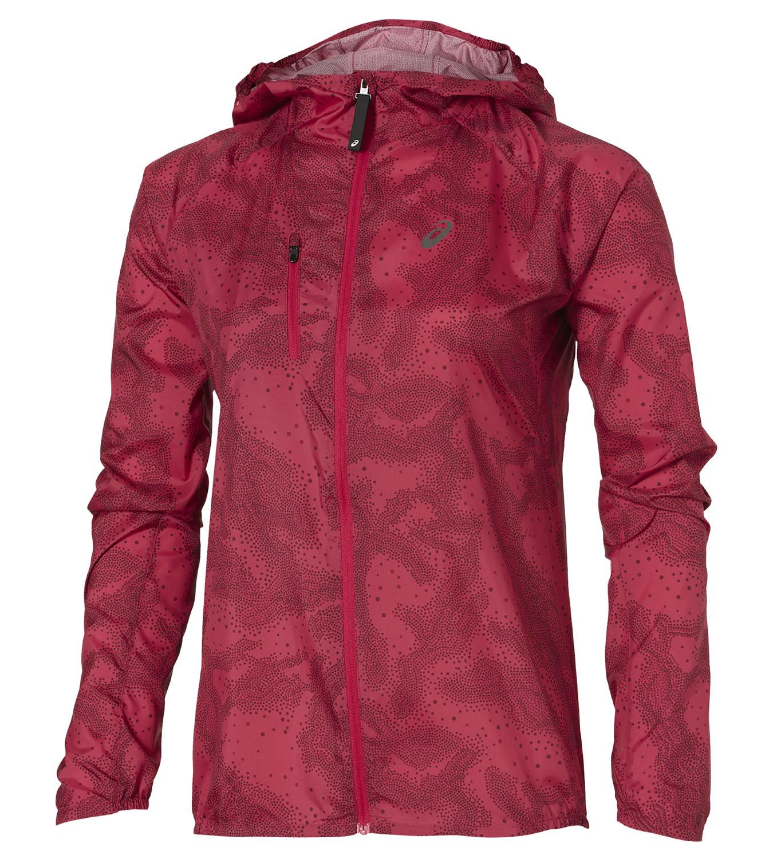 Женская ветровка для бега Asics FujiTrail Pack Jacket (125152 0130)