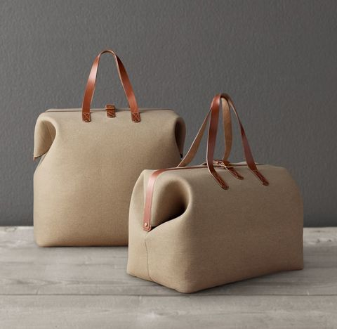 Canvas & Leather Carryall