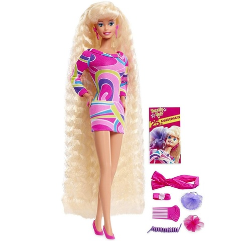 Барби с Волосами во весь рост