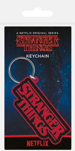 Брелок силиконовый Stranger Things (Logo)
