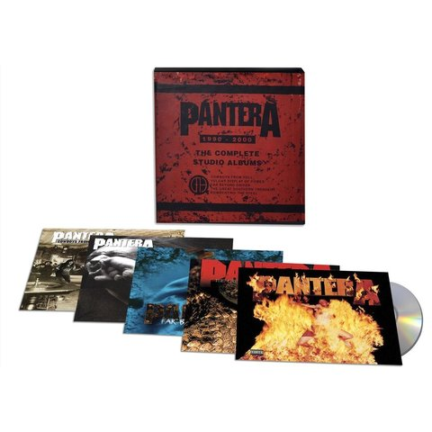 Pantera / The Complete Studio Albums 1990-2000 (5CD)