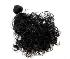 Волосы для кукол, трессы кудри, ширина 50 см, длина 30 см, 2 шт в наборе.