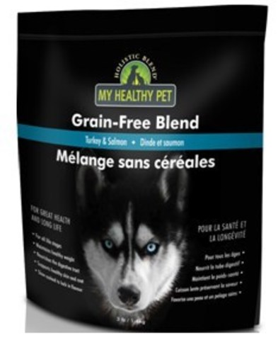Holistic Blend Индейка и Лосось беззерновой, сухой корм для собак 3.2 кг
