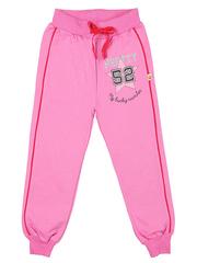24-2015-4 брюки спортивные детские, св-розовые