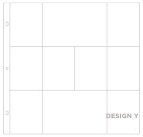 Фотофайлы Project Life-Дизайн Y-штучно