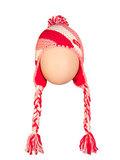 Bergans шапка 2309 Strawberry