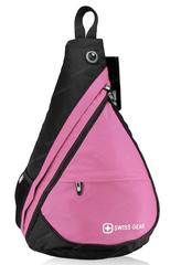 Однолямочный рюкзак SWISSWIN 1630-84 Pink