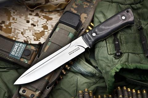 Тактический нож Ворон-3 Микарта MOLLE Kizlyar Supreme Edition
