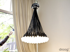 85 Lamps Chandelier | Droog Lighting | by Rody